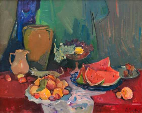 Srapion Danielyan. Still life with watermelon - photo 1