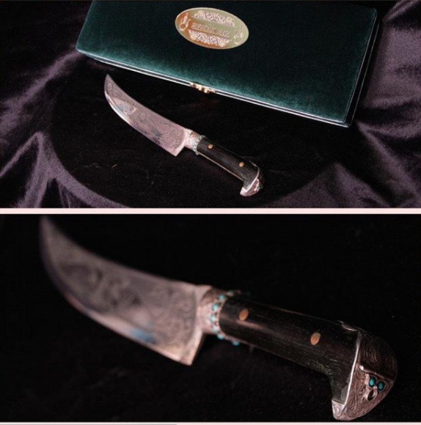 Vitaliy Malishev. Bukhara knife - photo 1