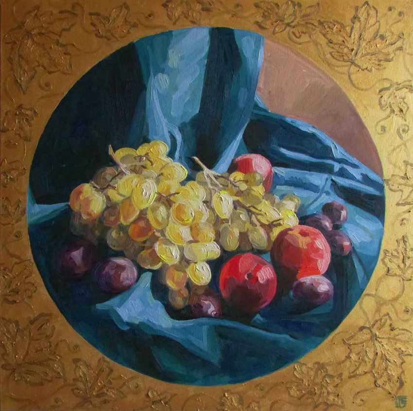 Kateryna Bortsova. Grapes and peaches - photo 1
