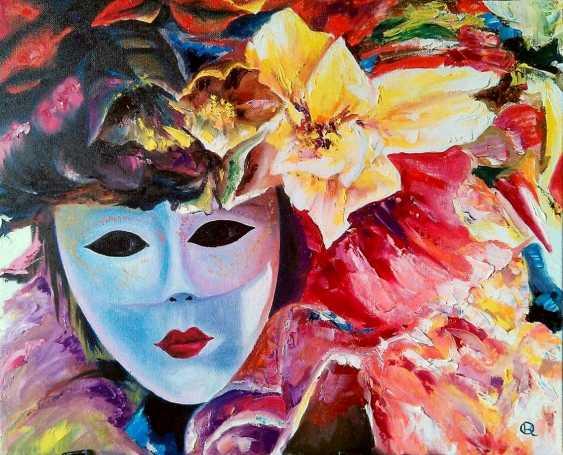 "Oleg Ryzhkov. A series of Venetian mask. ""Summer."" - photo 1"
