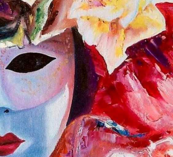 "Oleg Ryzhkov. A series of Venetian mask. ""Summer."" - photo 2"