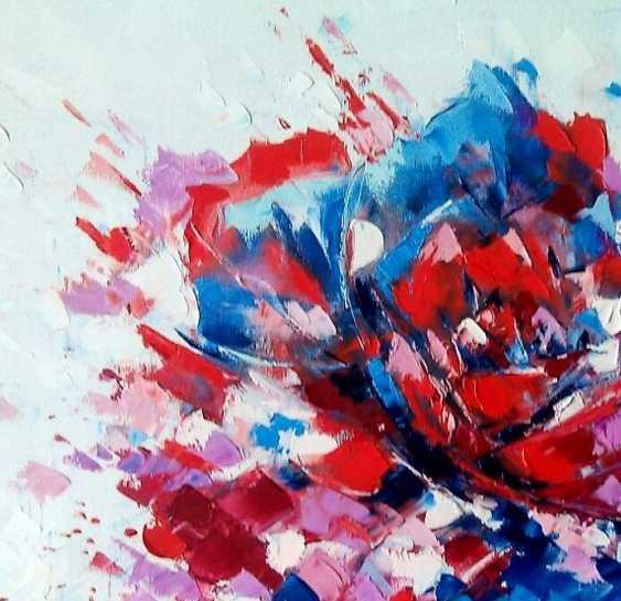 """Oleg Ryzhkov. """"Rose"""" oil painting - photo 2"""