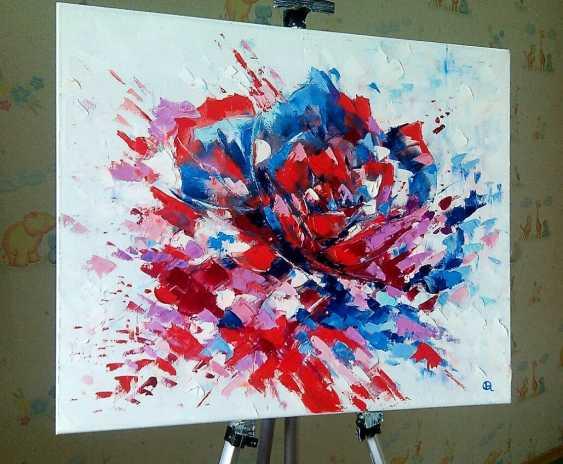 """Oleg Ryzhkov. """"Rose"""" oil painting - photo 3"""