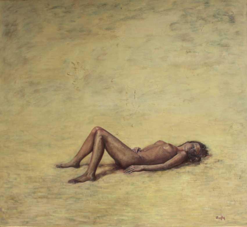 "Mushegh Grigoryan. ""Desert"" oil , canvas 160 x 145 cm - photo 1"