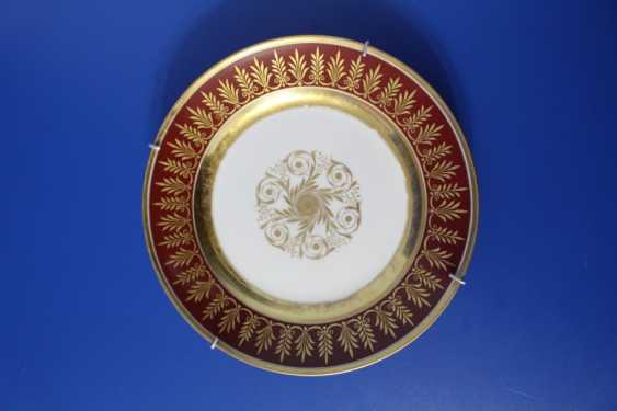 Plate, Imperial porcelain factory, 1855-1881 (Alexander II) - photo 1
