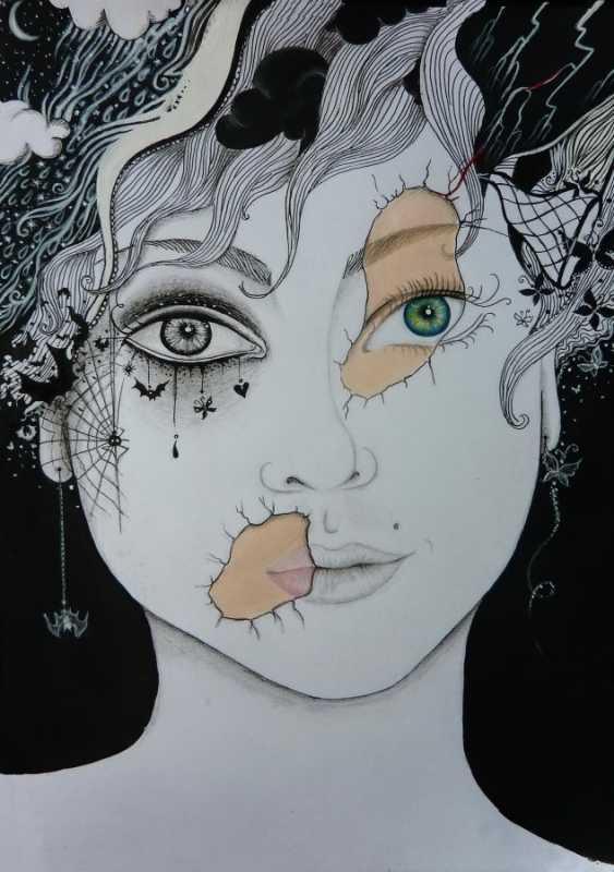 Ann Liss. Self portrait - photo 1