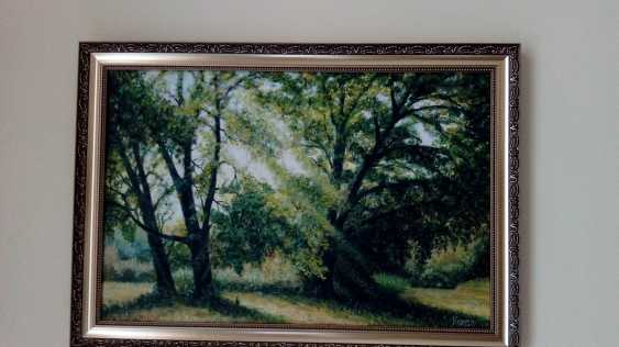 """Maria Korda. Oil painting """"Summer morning in the forest"""" - photo 1"""