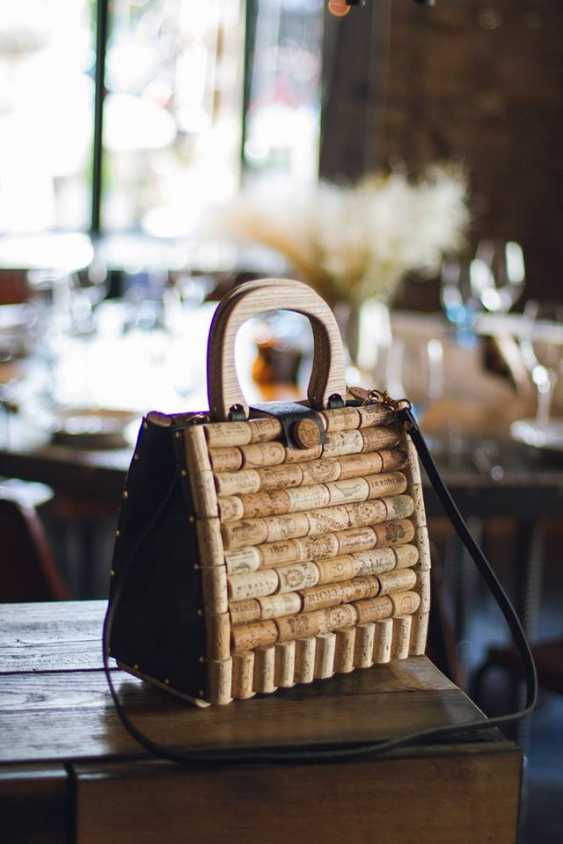 Sergey Tkachuk. A stylish, exclusive bag made of wine cork and handmade leather for every day and any season. - photo 2