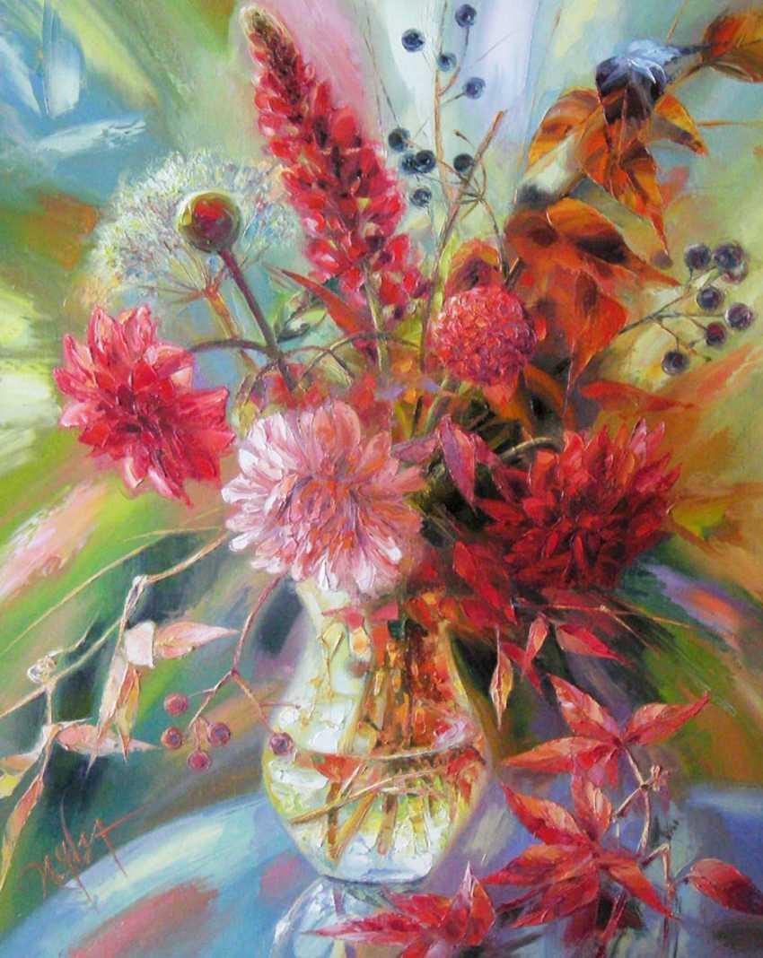 Irina Chebotareva. Red flowers. - photo 1