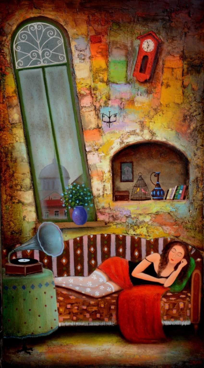 Devid Martiashvili. Sleeping girl - photo 1