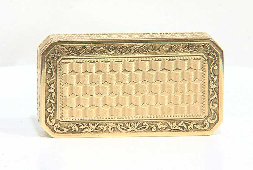 SNUFFBOX GOLD – BULGARI Collection - TA931 - photo 1