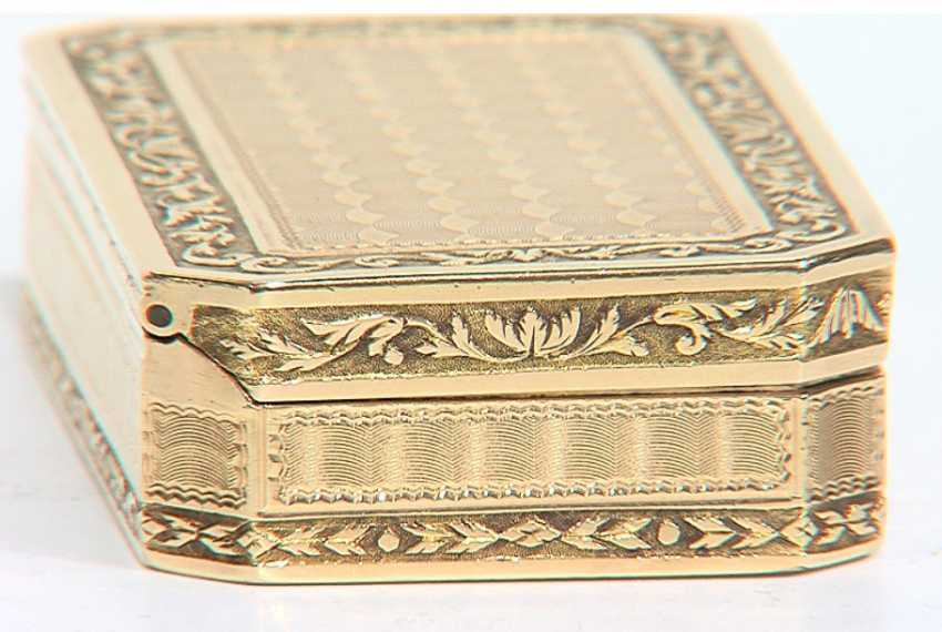 SNUFFBOX GOLD – BULGARI Collection - TA931 - photo 3
