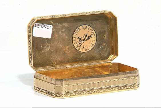 SNUFFBOX GOLD – BULGARI Collection - TA931 - photo 4