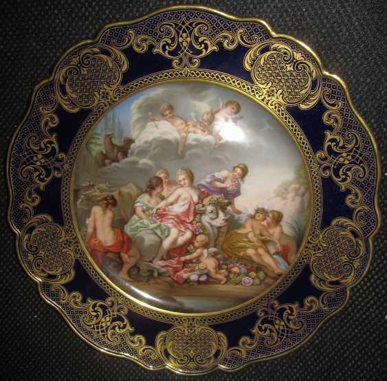 Meissen cabinet plate - photo 1