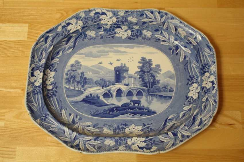 "Vintage dish from the series ""Caramanian"", Spode, England - photo 1"