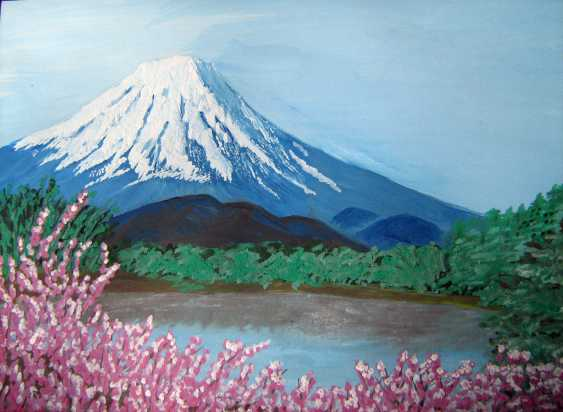 Margarita Margaryta. Mount Fuji - photo 1
