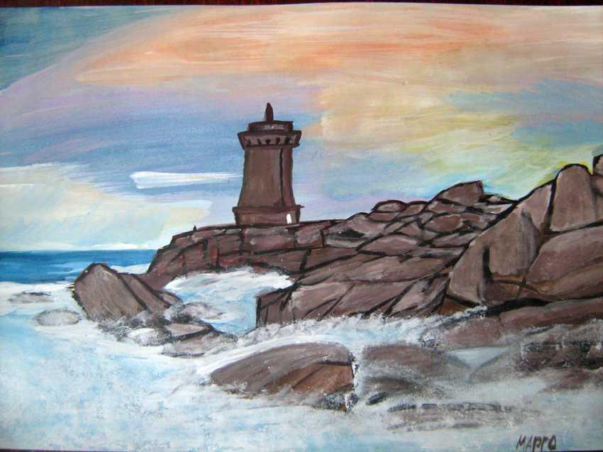 Margarita Margaryta. The lighthouse and the sea - photo 1