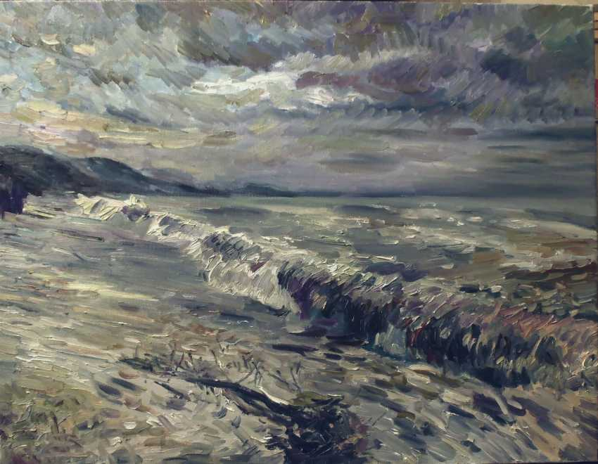 Elena Nazarova. Sturm. Das schwarze Meer - Foto 1