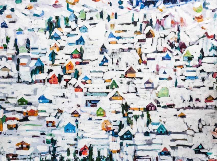 Anastasija Koerkovitsj. Winter landscape - photo 1