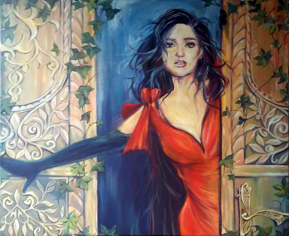 Olga Doroshuk. The woman in red / Woman in red - photo 1