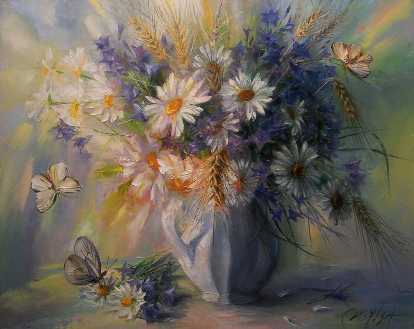 Irina Chebotareva. The flowers of the field. - photo 1