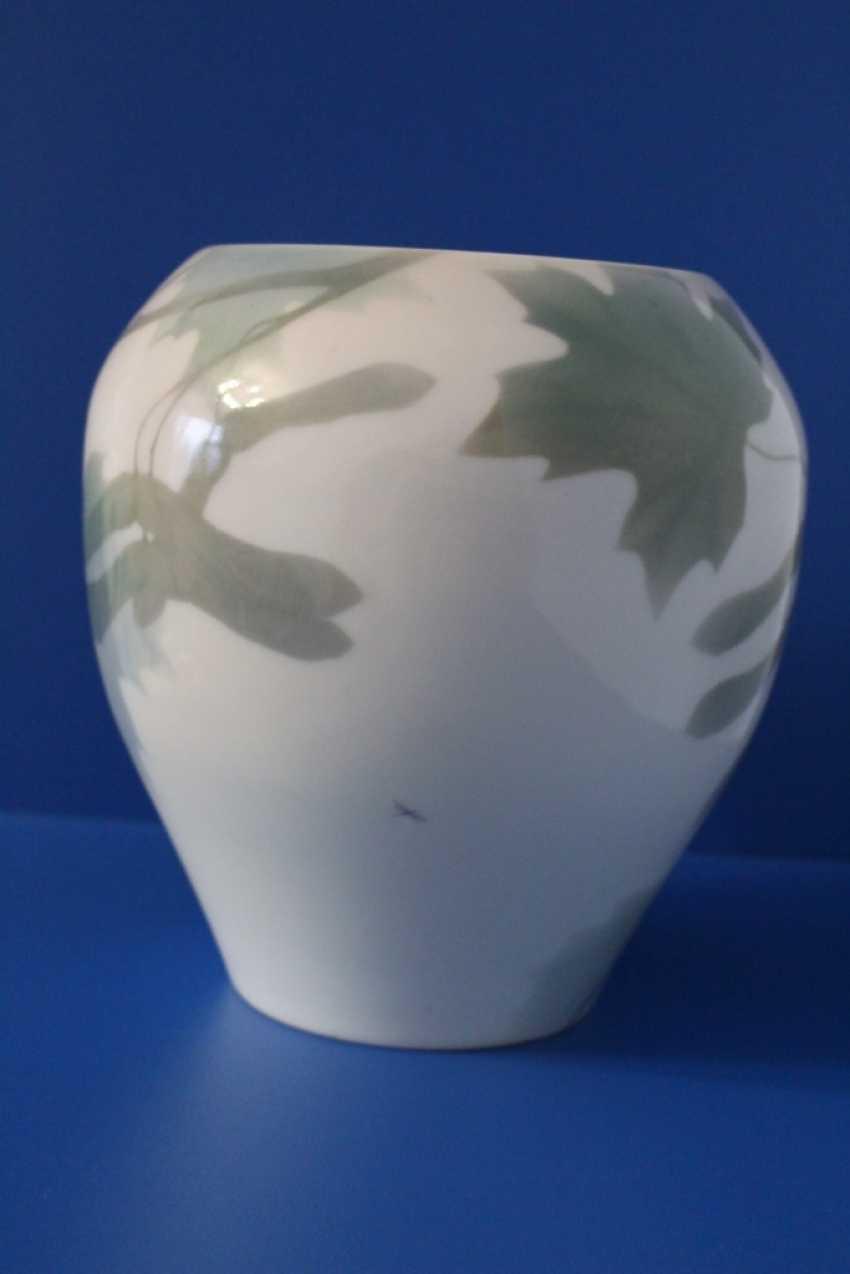 "Flower vase ""maple Branch"", Imperial porcelain factory, 1907 - photo 3"