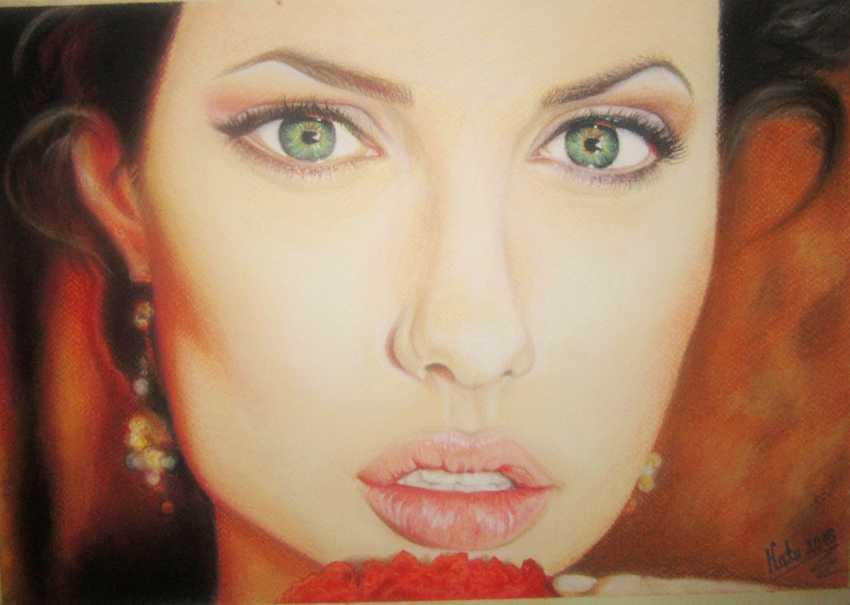 Katerina Boyko. Angelina Jolie - photo 1