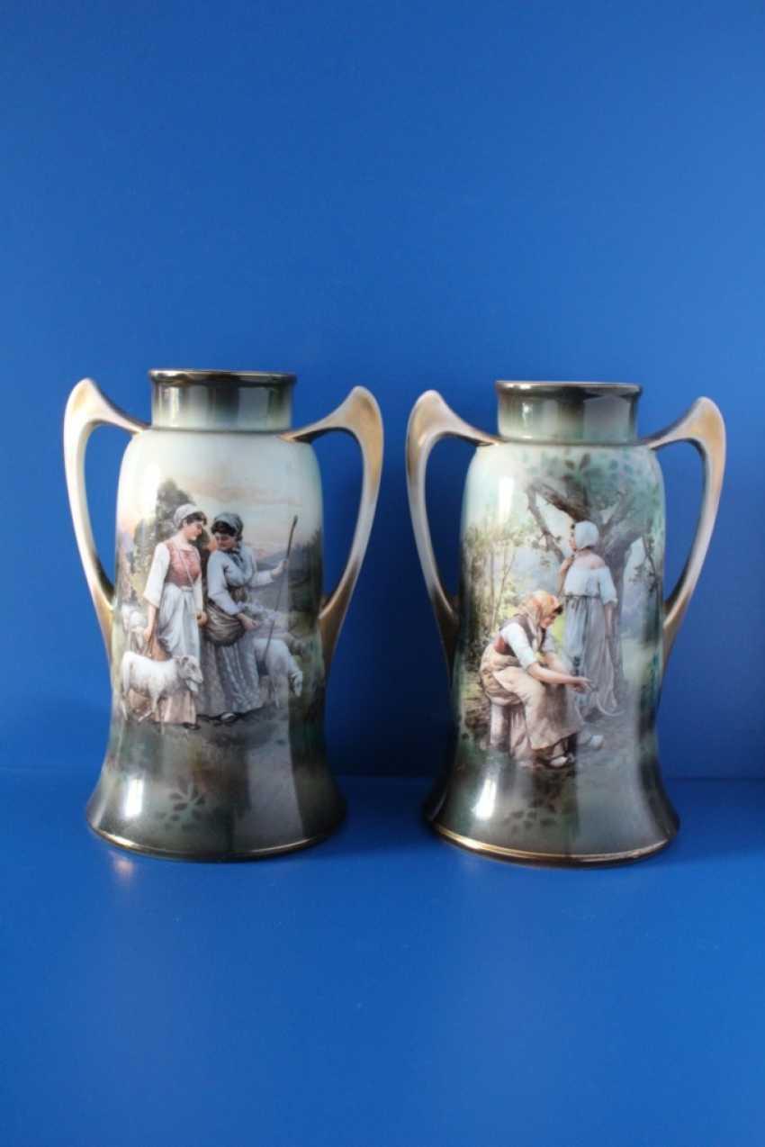 """Vases pair """"Peasant"""", Germany - photo 1"""