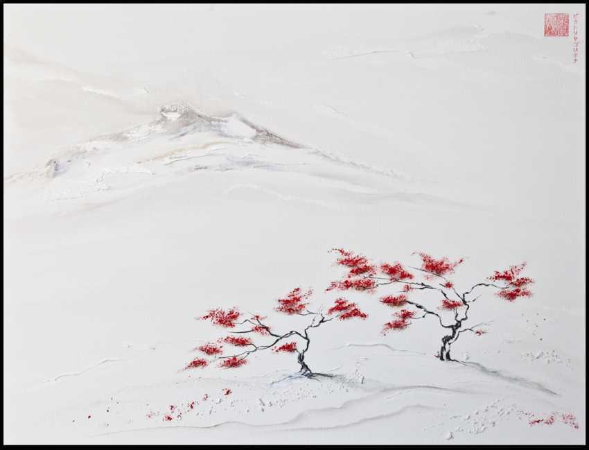 "Viktoria Golitsyna. a series of ""ZEN"" .""Japanese maple"" - photo 1"