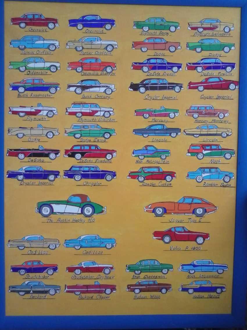 Vitalii Nechitaylo. USA cars 1956.The catalogue for the Soviet Union. - photo 1