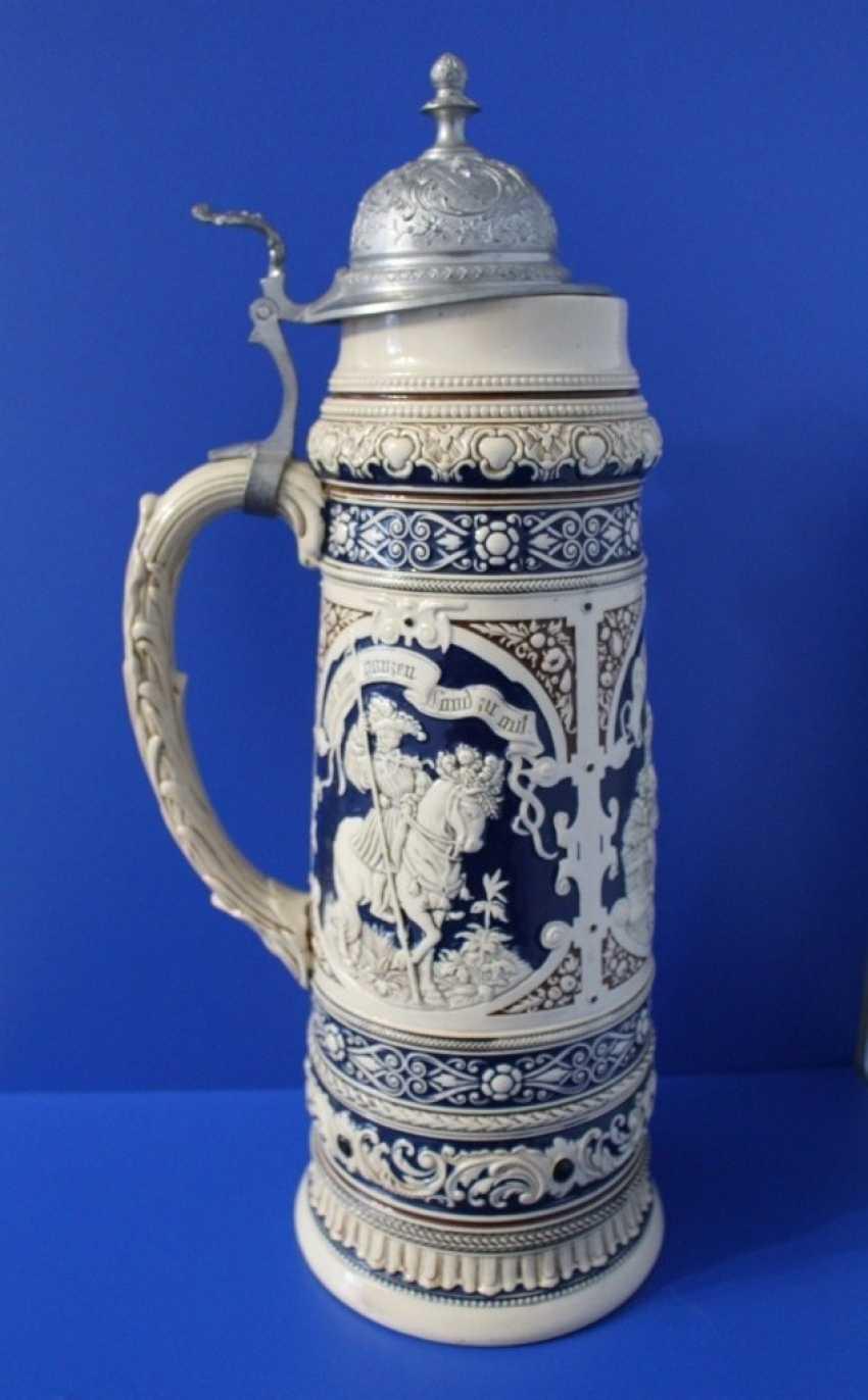 Regimental beer mug (3-liter), Germany - photo 2