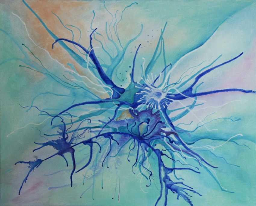 "Viktoria Golitsyna. series ""Game of neurons."" Peace. - photo 1"
