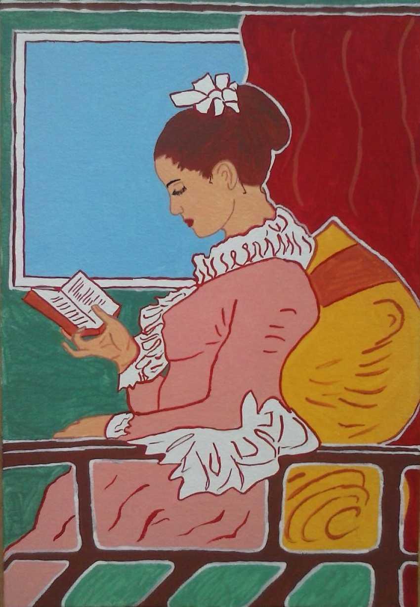 Vitalii Nechitaylo. The Reader. - photo 1
