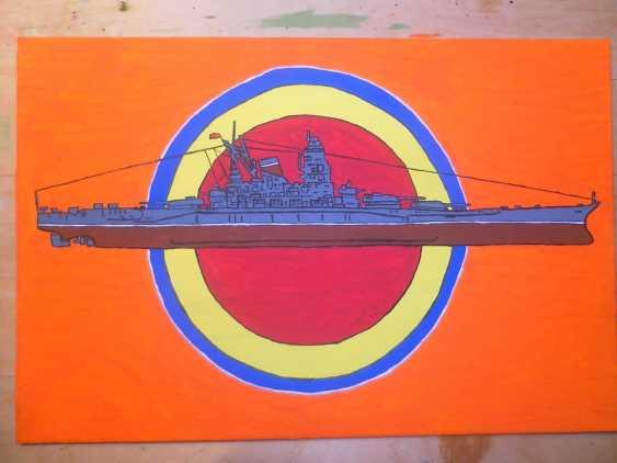 """Vitalii Nechitaylo. Battleship """"Yamato"""".8 Aug 1939-7 April 1945. - photo 1"""