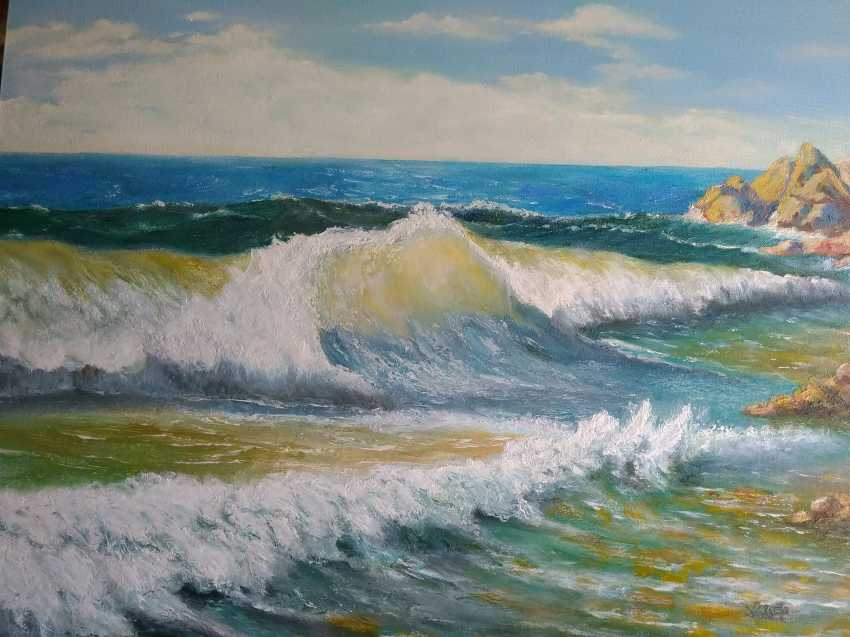 Aleksandr Zhdanovich. Sea Peinture - photo 1