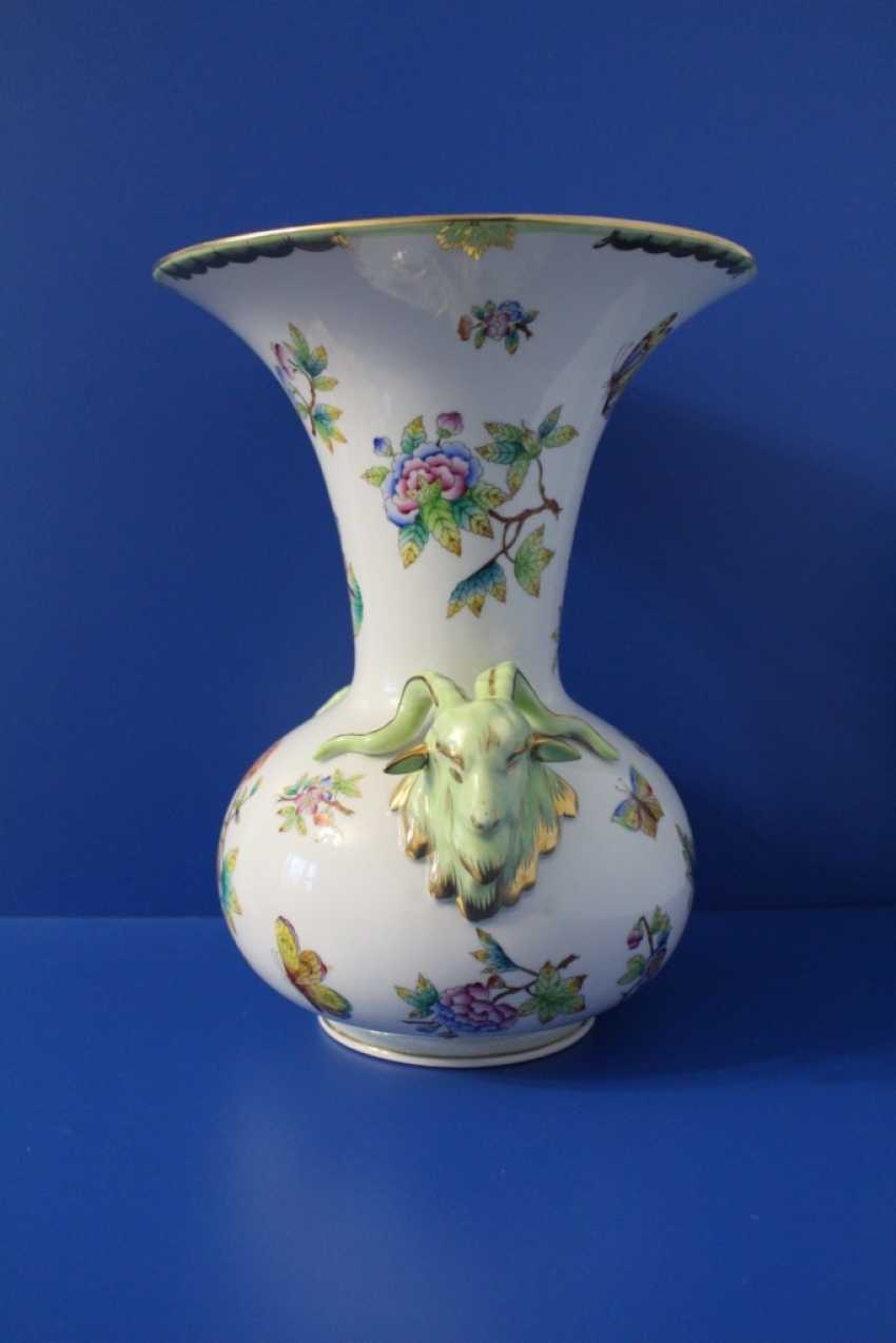 Table vase, Herend ( Herend ) - photo 3