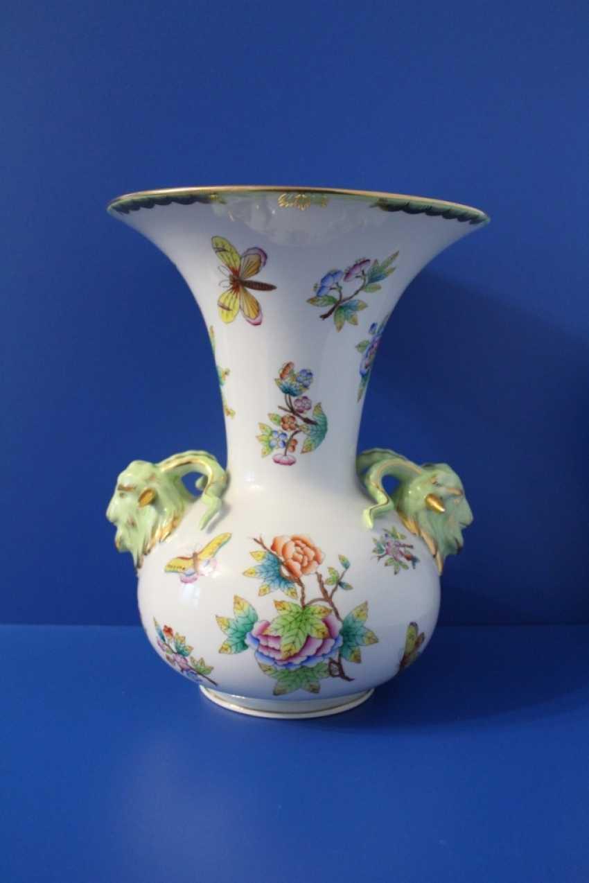 Table vase, Herend ( Herend ) - photo 2