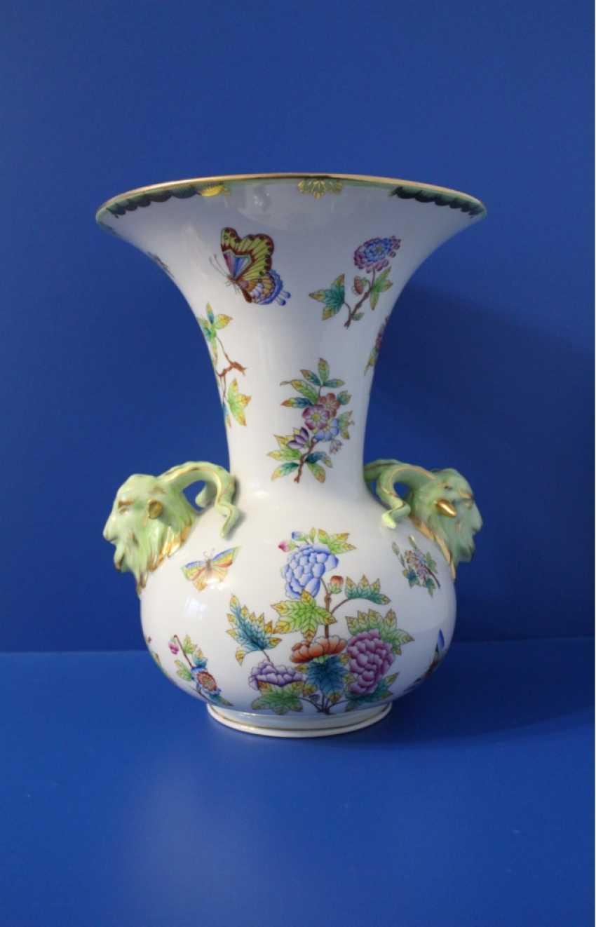 Table vase, Herend ( Herend ) - photo 4