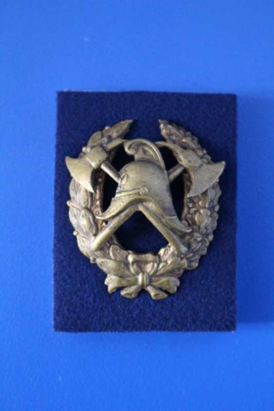 Fireman lapel badge 1920-ies - photo 2