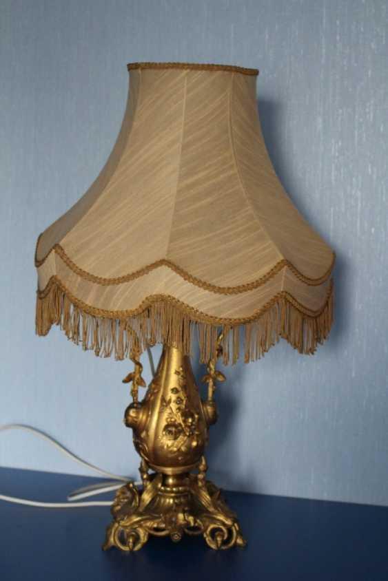 Lamp (lamp) table - photo 3
