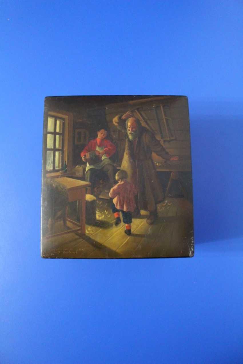 """Box """"Dance"""" Fedoskino 1951 - photo 1"""