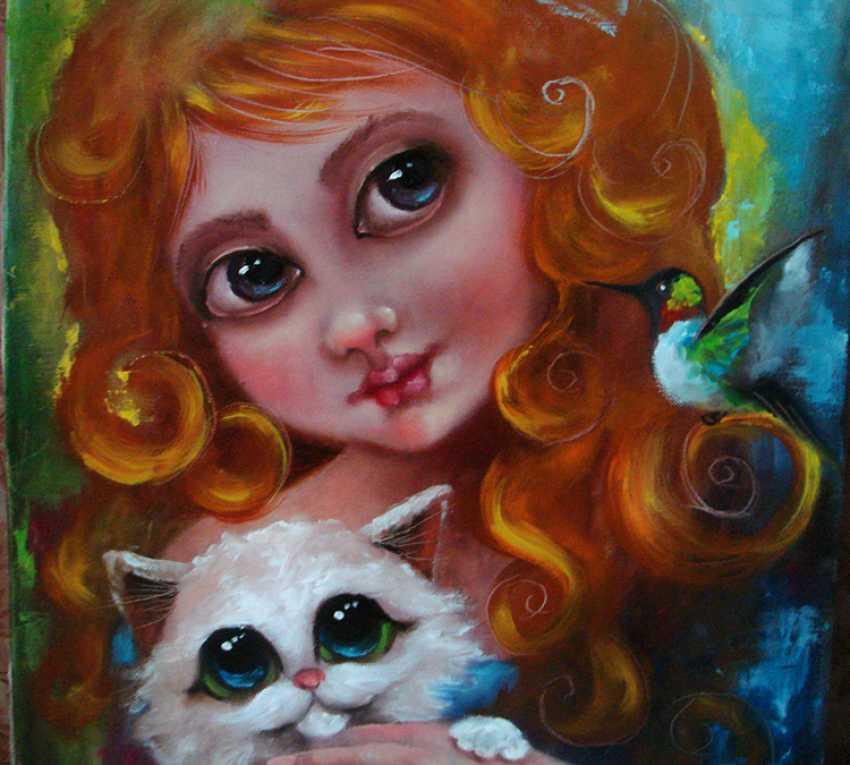 """Julija Ionova. """"Dear friend"""" - photo 4"""