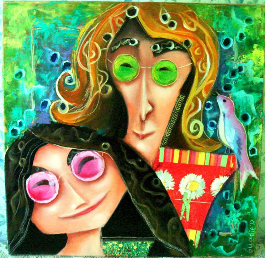 "Julija Ionova. ""Yoko and Lennon "" - photo 1"