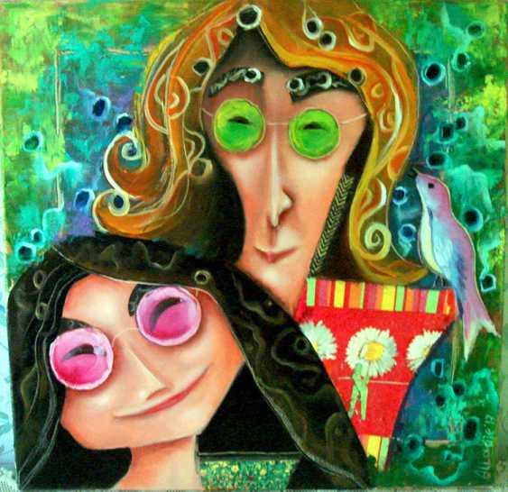 "Julija Ionova. ""Yoko and Lennon "" - photo 2"