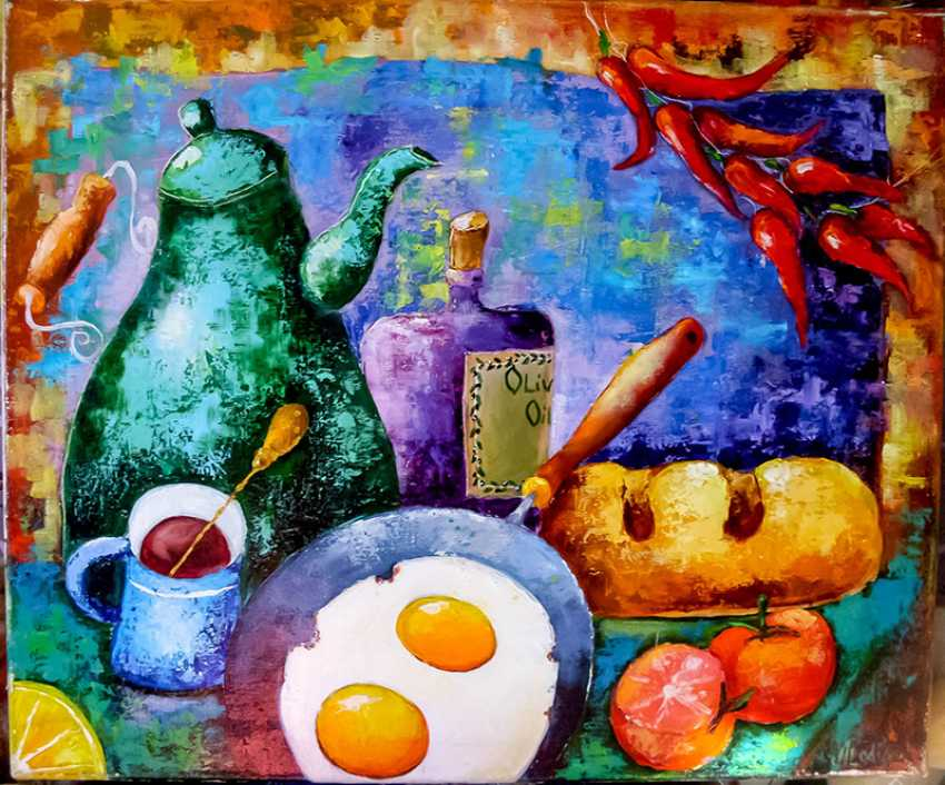 "Julija Ionova. ""Still life with eggs "" - photo 1"