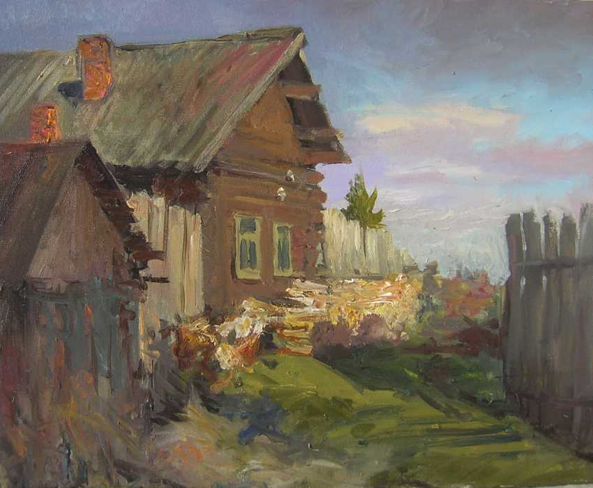Gennadyi Sharoikin. In the village - photo 1