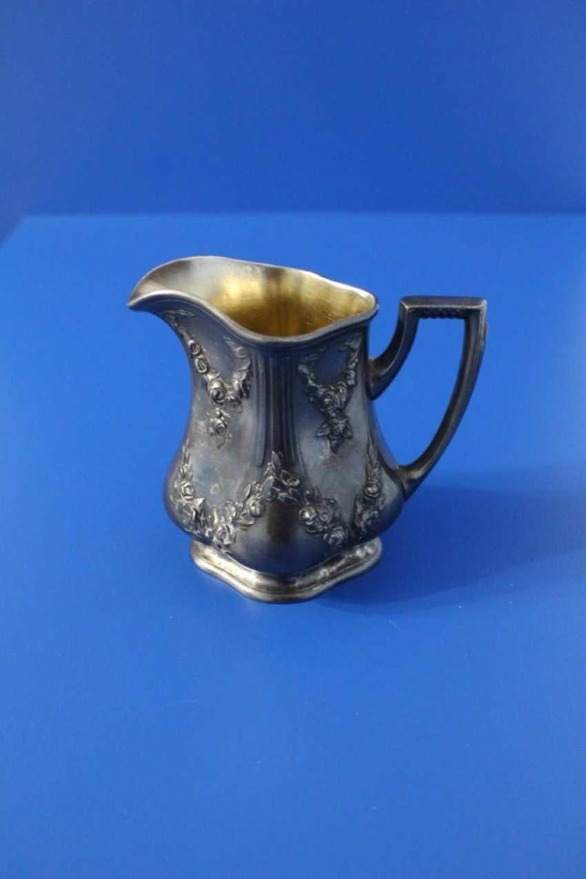 Tea set (teapot, milk jug, tray) Fraget (Traget) - photo 2