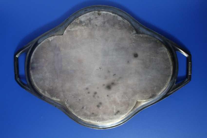 Tea set (teapot, milk jug, tray) Fraget (Traget) - photo 7