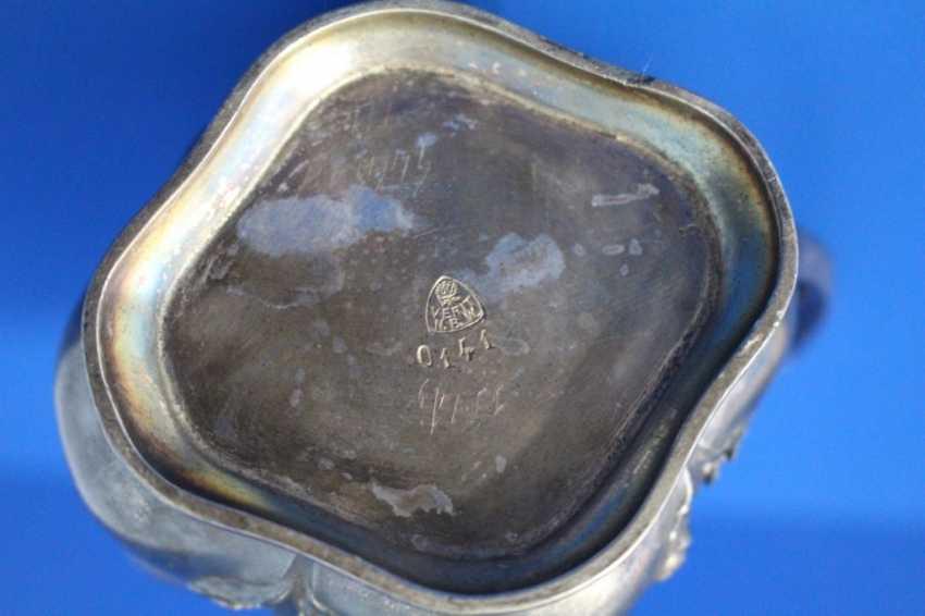 Tea set (teapot, milk jug, tray) Fraget (Traget) - photo 4