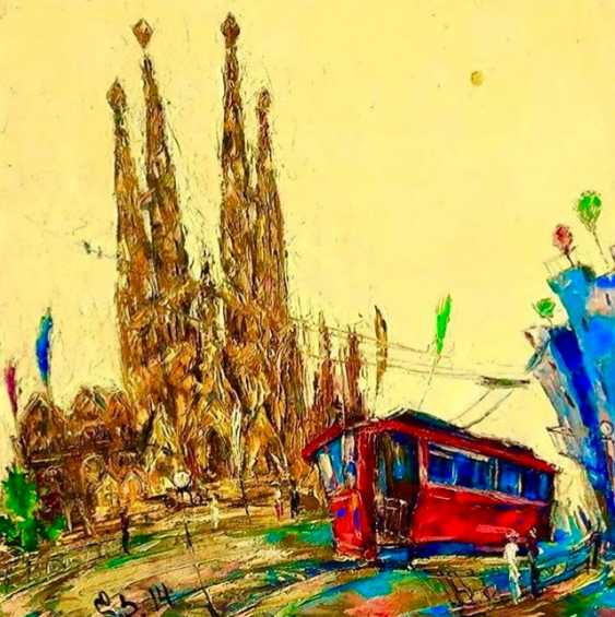 "David Kezevadze. ""Another tram"" - photo 1"
